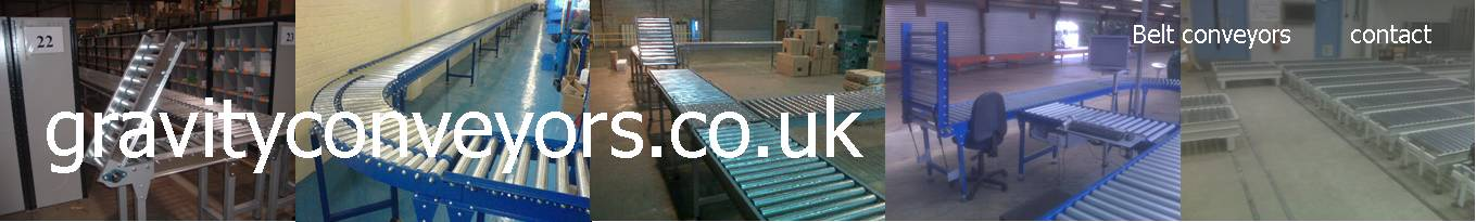 ball tables, gravity conveyors and belt conveyors